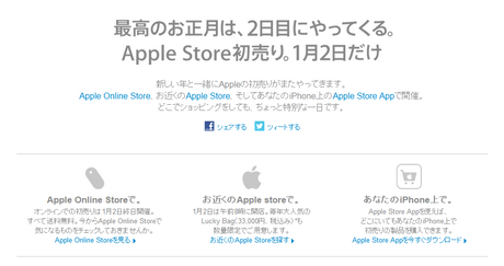 アップルluckbag