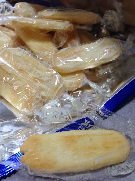 ハッピーターン塩バニラ