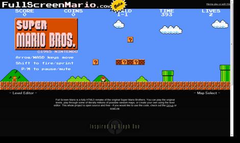 FullScreenMario