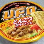 UFOとんこつ焼きラーメン風