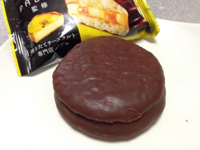 チョコパイチーズケーキ